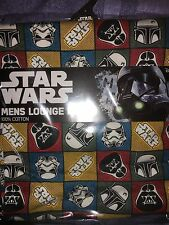 Star wars Rogue one Darth vader and stormtrooper  mens size  XL   lounge  pants