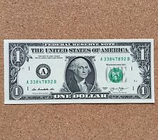 1 x USA One Dollar Bill Note  Birthday Gift, Wedding Favour. Uncirculated -NEW