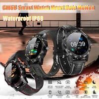 GW68 Smart Watch Heart Rate Motion Waterproof bluetooth Wristband Fitness IP68