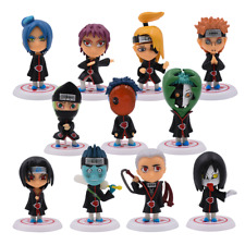 11Pcs/Set Naruto Shippuden Akatsuki Figure Toys Dolls Model Collectable Gift