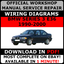 # OFFICIAL WORKSHOP Service Repair MANUAL for BMW SERIES 3 E36 1990-2000 #