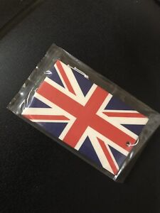 Union Jack Air Freshener New Car Home Office Campervan t4 T5 t6 Caddy VE DAY