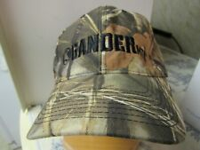 Vtg. Gander Mountain Camouflage / Hunting Embroidered Baseball Hat OOP