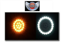 """3"""" FLAT STYLE Turn Signal LED Inserts for Harley Davidson GEN-200-AW-1157-T New!"""