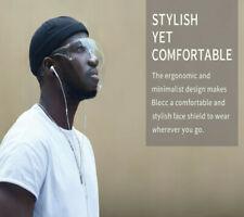 HQ Blocc Face Shield Face Cover Transparent Glasses UK