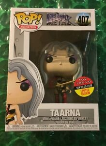 FUNKO POP TAARNA HEAVY METAL TOY TOKYO EXCLUSIVE LIMITED EDITION SDCC 2018 SOLD