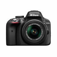 Nikon D Series D3300 24.2 MP Digital SLR - (Kit w/ AF-S DX 18-55mm VR II Lens)