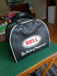Bell Crash Helmet Bag fully lined vgc condition,  double zip.