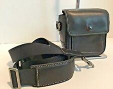 NEW Coach Canon Blk Leather Camera/ Camcorder/ Shoulder/Crossbody Bag- (RARE)