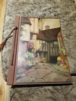 VINTAGE 1937 SCRAP BOOK TITLED Old Barnhurst - Ernest