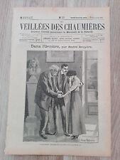 Journal illustré 1909  - Veillées des Chaumières - 01 septembre - Dans l'Ornière