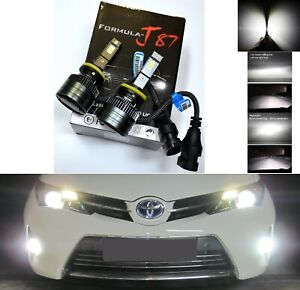 LED Kit G8 100W 887 4300K Stock Two Bulbs Fog Light Upgrade Replacement OE Stock