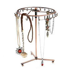 23Hooks Rotating Jewelry Tree Holder Organizer Bracelet Necklace Display Stand P