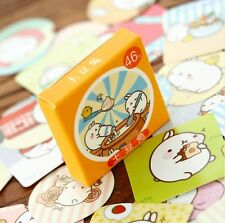 Molang potato rabbit box of cute kawaii kitsch stickers