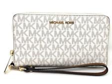 Michael Kors Jet Set Medium Zip Around Phone Holder Wallet Wristlet 35SOGTVL2B