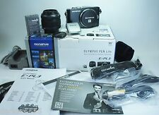 Olympus PEN E-PL3 12.3 MP Digital Camera - Black (Kit w/ 14-42mm Lens)