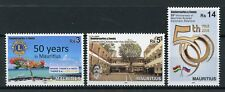Mauritius 2018 MNH Lions Club Diplomatic Rel Russia 3v Set Trees Schools Stamps