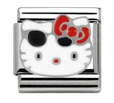 Nomination Charm Hello Kitty Red Bow & Sunglasses RRP £22