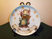 """""""ANGEL DUET"""" M.J.HUMMEL MERRY CHRISTMAS 1988 PLATE #2 OF 4  EXCELLENT CONDITION"""