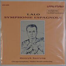 LALO: Symphonie Espangnole RCA LIVING STEREO LSC-2456 180g Classic SEALED LP OOP