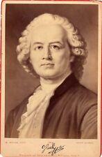 Opera, composer Ritter v Guick photography , autograph 1880 Cabinet cdv albumen