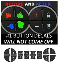 GMC-Acadia-Worn-Buttons-Repair-Decals-AC-Climate-Control