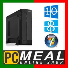 AMD Dual Core A6 9500 SFF Computer 4GB 500GB R7 Slim Desktop Office Home PC HTPC