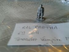 Ral Partha - Toreador Vampire Male - 1 figure
