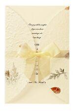 Wilton Pressed Floral Wedding Invitation Kit