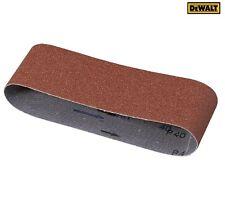 DEWALT DT3304QZ Sanding Belts 533mm x 75mm (100 Grit) Pack of 10