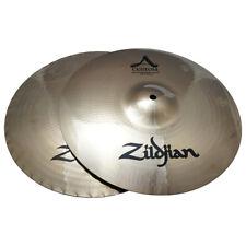 "Zildjian 20550 14"" Custom Mastersound Hi Hat Pair - Hihat Drumset Cymbals - Used"