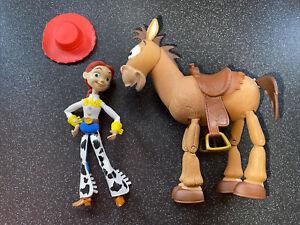 DISNEY PIXAR Toy Story Jessie & Bullseye 7 Inch Figures