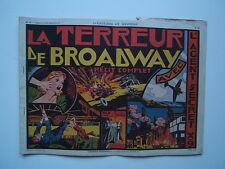 EDITION SAGE / AVENTURES ET MYSTERE / NUM 19 / AGENT X 9 / LA TERREUR ...  1939