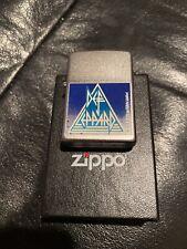 Def Leppard  Zippo Lighter  RETIRED BRAND NEW