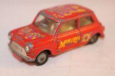 """Corgi Toys 349 Morris Mini Minor """"Pop Art"""" Mini Mostest Scarce model"""