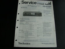Original Service Manual Schaltplan  Technics RS-B58R