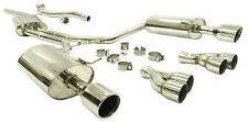 OBX Racing Cat Back Exhaust For 2005 2006 2007 2008 Audi A4 2.0T FWD A/T
