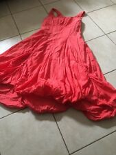 Robe Coloris Corail Deca Taille 2