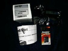 Red Lion 6 Digit Counter CUB20000 Brand New Sealed with Energizer Battery's