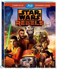 Star Wars Rebels Complete Final Season 4 Four Blu-ray Disney XD Animated Series