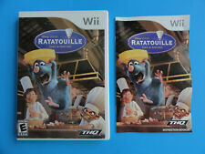 NO GAME- NINTENDO WII RATATOUILLE - CASE & MANUAL ONLY -NO GAME DISC