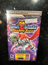 Invizimals Shadow Zone Bundle W/ Camera Sony PSP PlayStation New Sealed Box