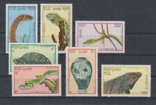 Kampuchea 983 - 89 Snakes Turtles Etc. (MNH)