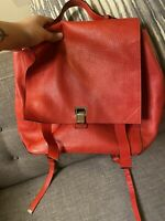 Proenza Schouler Red Leather Backpack