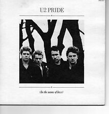 """U2 RARE 7"""" X 2 PRIDE IN THE NAME OF LOVE 4TH OF JULY BOOMERANG 1 2 ISD 202 1984"""