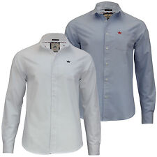 Brave Soul Men's No Pattern Button Down Casual Shirts & Tops