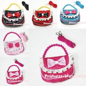 Little Cute Handbag Petti Bag Purse Accessory For Girl Dual Purpose Two Straps