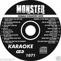 KARAOKE MONSTER HITS CD+G FEMALE COUNTRY HITS #1071