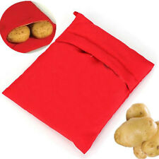 1x Reusable Potato Express Microwave Cooker Bag 4 Minutes Fast Washable