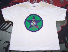 Fremantle Dockers AFL Boys White Printed T Shirt Size 2 New